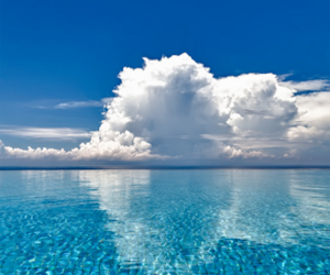 clouds, sky, and summer image