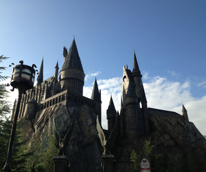 castle, hogwarts, and orlando image