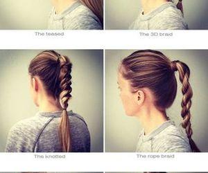 braid, girly, and diy image