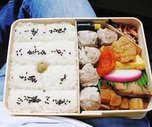 food, bento, and japanese image