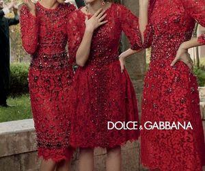 dress, Dolce & Gabbana, and model image