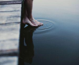 beauty, lake, and photography image