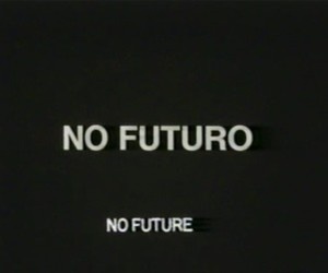 future, text, and black image