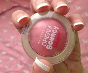 blush, cosmetics, and Maybelline image