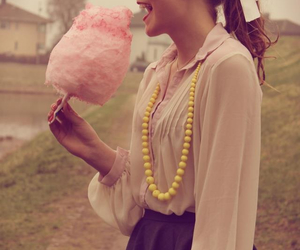 50's, candy, and cotton candy image