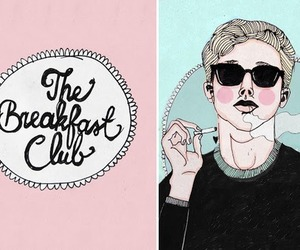The Breakfast Club, movie, and art image