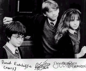 b&w, harry potter, and hermione granger image