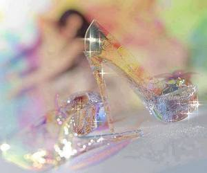 shoes, cinderella, and glass image
