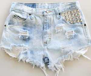 shorts, fashion, and jeans image