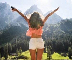 beautiful, summer, and mountains image