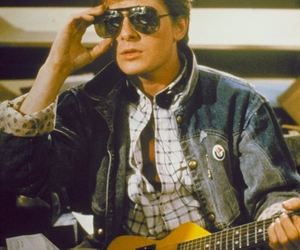 Back to the Future, marty mcfly, and michael j fox image