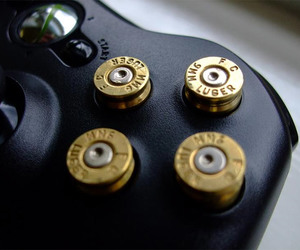bullet and xbox 360 controller image