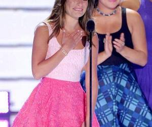 lea michele, glee, and tca image