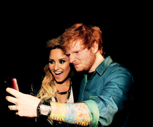 demi lovato, ed sheeran, and demi image