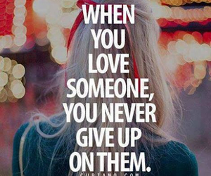 love, quote, and someone image