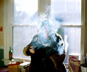 smoke and boy image