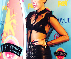 miley cyrus, miley, and tca image