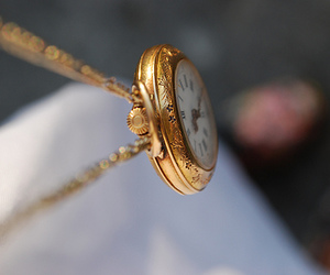 clock, fashion, and pocketwatch image