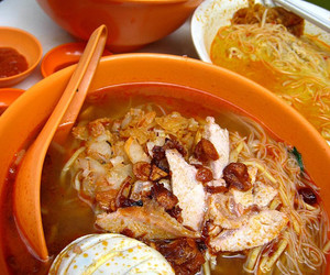 eat, Malaysia, and noodles image