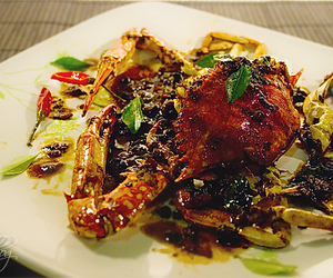 crab, Hot, and southeast asia image