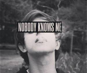 me, nobody, and know image