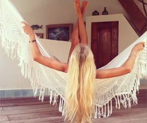 blonde, bohemian, and free image