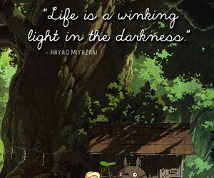 totoro, quote, and anime image