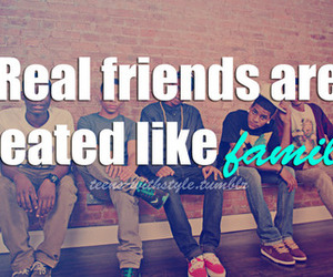 family, real, and qoute image