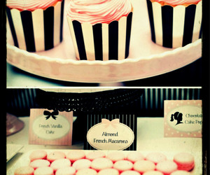 cupcakes, girly, and pink image