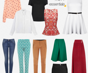 mix and match, capsule wardrobe, and minimalist living image