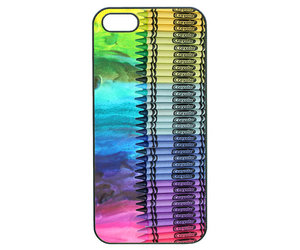 crayons, iphone cases, and iphone 4 case image