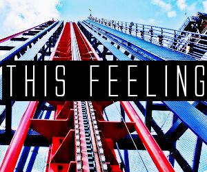 feeling, Roller Coaster, and fun image