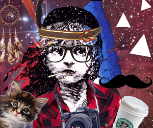 hipster and les miserables image