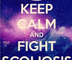 fight, power, and scoliosis image