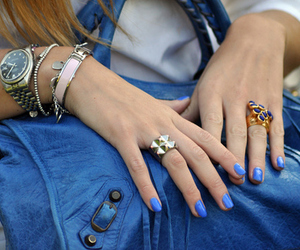 girl, fashion, and ring image