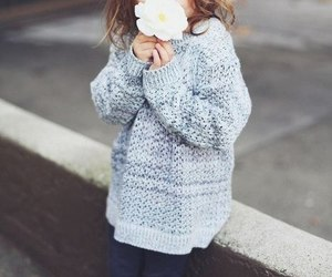 baby, flower, and beautiful image