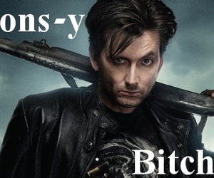 bitches, doctor who, and david tennant image