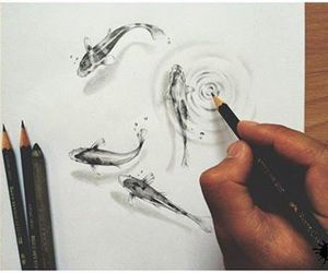 artist, cool, and drawing image