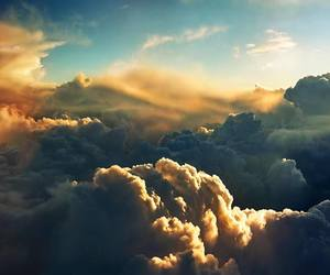 clouds, inspiration, and sky image