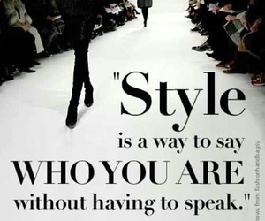 style, fashion, and quotes image