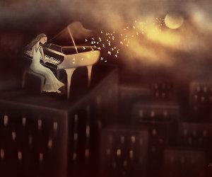 moon and piano image