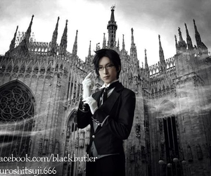 black butler, claude faustus, and cosplay image