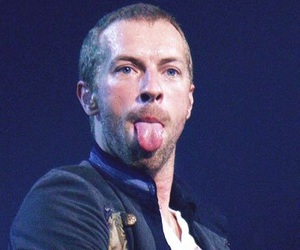 coldplay, show, and tongue image