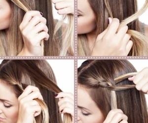 braid, hairstyle, and tutorial image