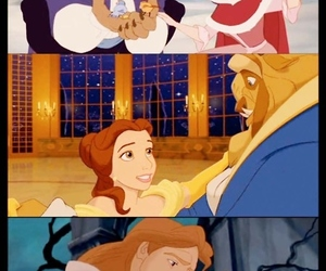 beauty and the beast, belle, and princess image