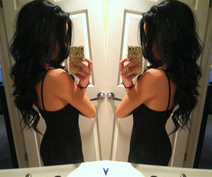 ass, beauty, and curly hair image