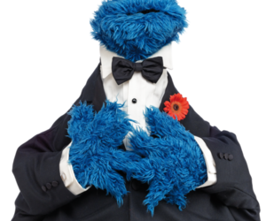 blue, costume, and toy image