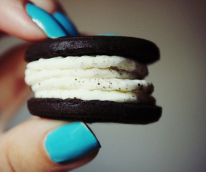 oreo, cookie, and nails image