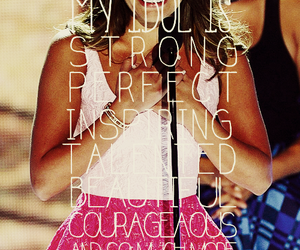 lea michele, strong, and glee image