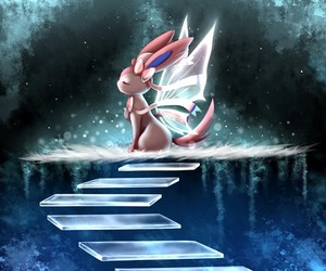 pokemon, sylveon, and anime image